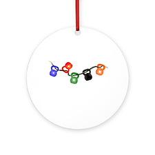 jinglebells4.png Round Ornament