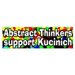 Abstract Thinkers Support Kucinich