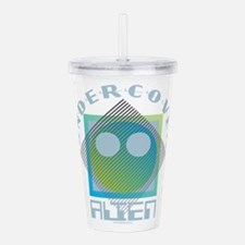 Undercover Alien - UFO Acrylic Double-wall Tumbler