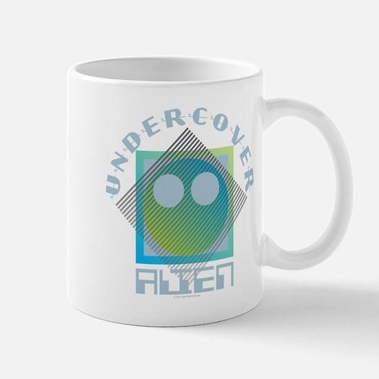 Undercover Alien - UFO Mugs