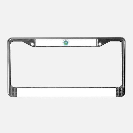 Undercover Alien - UFO License Plate Frame