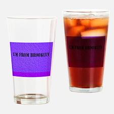 Cute Travel brooklyn Drinking Glass