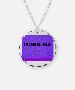 Cute Travel brooklyn Necklace