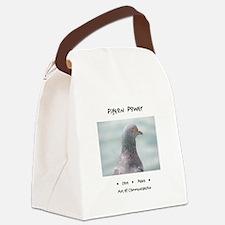 Pigeon Power Animal Medicine Canvas Lunch Bag