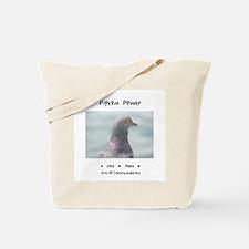 Pigeon Power Animal Medicine Tote Bag