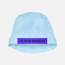 UM FROM BROOKLYN - PURPLE baby hat