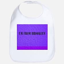 UM FROM BROOKLYN - PURPLE Bib