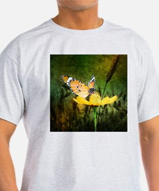 spring daisy yellow butterfly T-Shirt