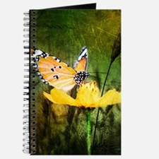 spring daisy yellow butterfly Journal