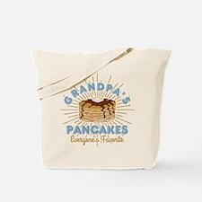 Grandpa's Pancakes Tote Bag