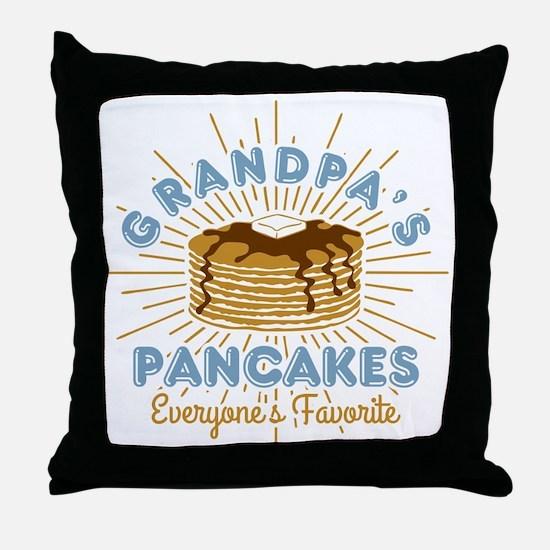 Grandpa's Pancakes Throw Pillow