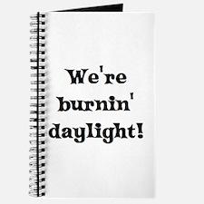 burning daylight Journal