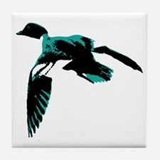 On the wing. Tile Coaster