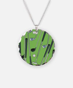 Golfing Necklace