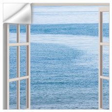 Ocean Scene Window Wall Decal