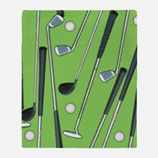 Golfing Throw Blanket