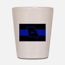 Thin Blue Line - Missouri Shot Glass