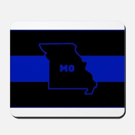 Thin Blue Line - Missouri Mousepad