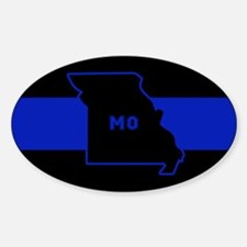 Thin Blue Line - Missouri Decal