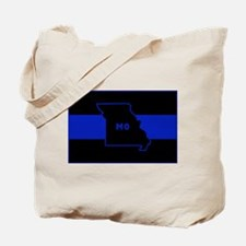 Thin Blue Line - Missouri Tote Bag