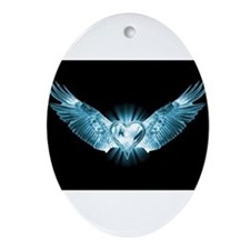 Cute Thevampirediariestv makes my heart throb Oval Ornament