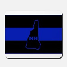 Thin Blue Line - New Hampshire Mousepad
