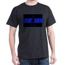 Thin Blue Line - New Hampshire T-Shirt