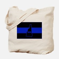 Thin Blue Line - New Hampshire Tote Bag