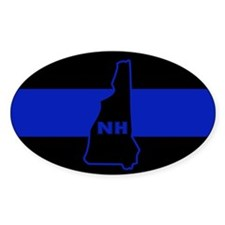 Thin Blue Line - New Hampshire Decal