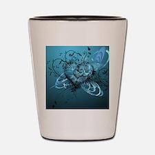 Blue Desire-Forever Love Shot Glass