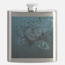 Blue Desire-Forever Love Flask