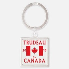 Funny Justin Square Keychain