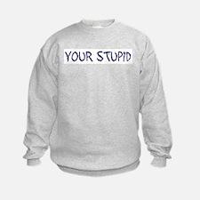 Your Stupid Sweatshirt