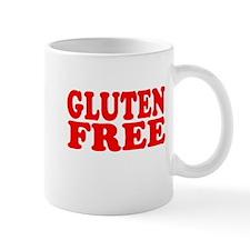 Gluten Free Struggle Blue/White Mugs