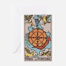 """""""Wheel of Fortune"""" Greeting Card"""