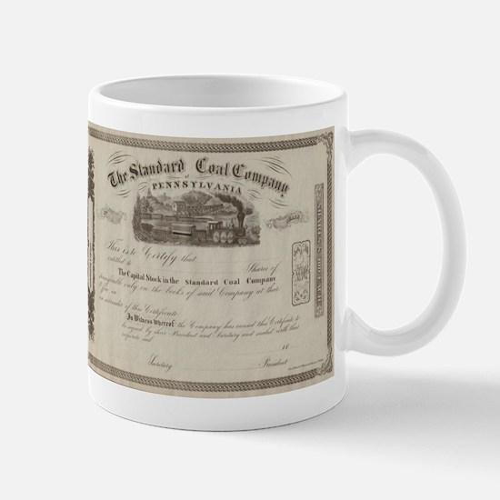 Standard Coal Company of Pennsylvania Mug