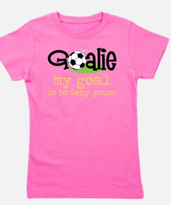 Cool Soccer goalie Girl's Tee