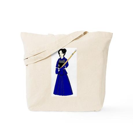 Kendo Girl Tote Bag