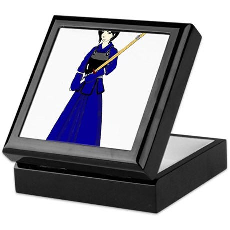 Kendo Girl Keepsake Box