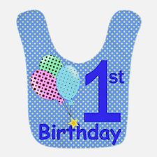 1st Birthday Boy Bib