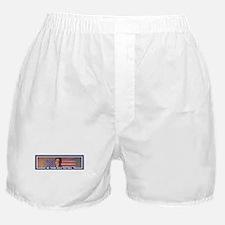 MR. TRUMP, BUILD THAT WALL Boxer Shorts