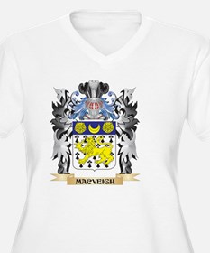 Macveigh Coat of Arms - Family C Plus Size T-Shirt