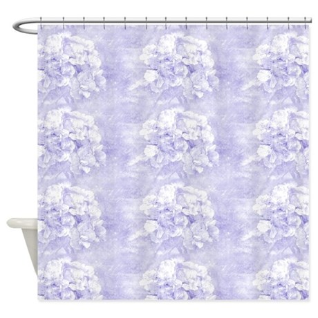 Dreamy Blue Floral Shower Curtain By Admin Cp37802842