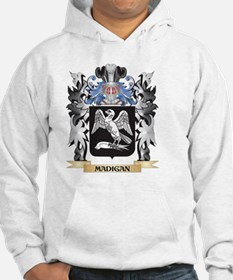Madigan Coat of Arms - Family Cr Hoodie