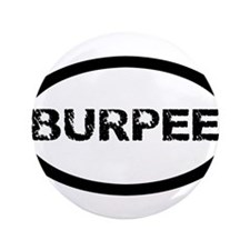 "Burpee Sticker 3.5"" Button (100 pack)"