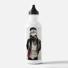 Sloth Punk Water Bottle