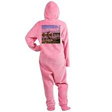 LEEDS CASTLE Footed Pajamas