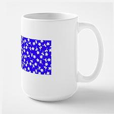 Blue Floral Dance Annie's Fave Mugs