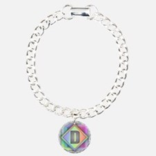 Rainbow Splash D Bracelet