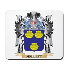 Mallett Coat of Arms - Family Crest Mousepad